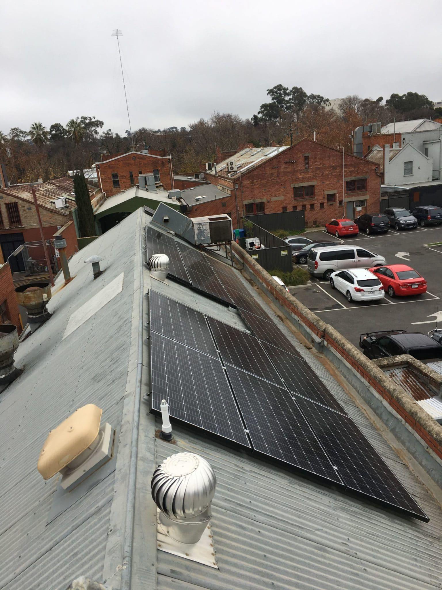 Bendigo Commercial solar 2017_