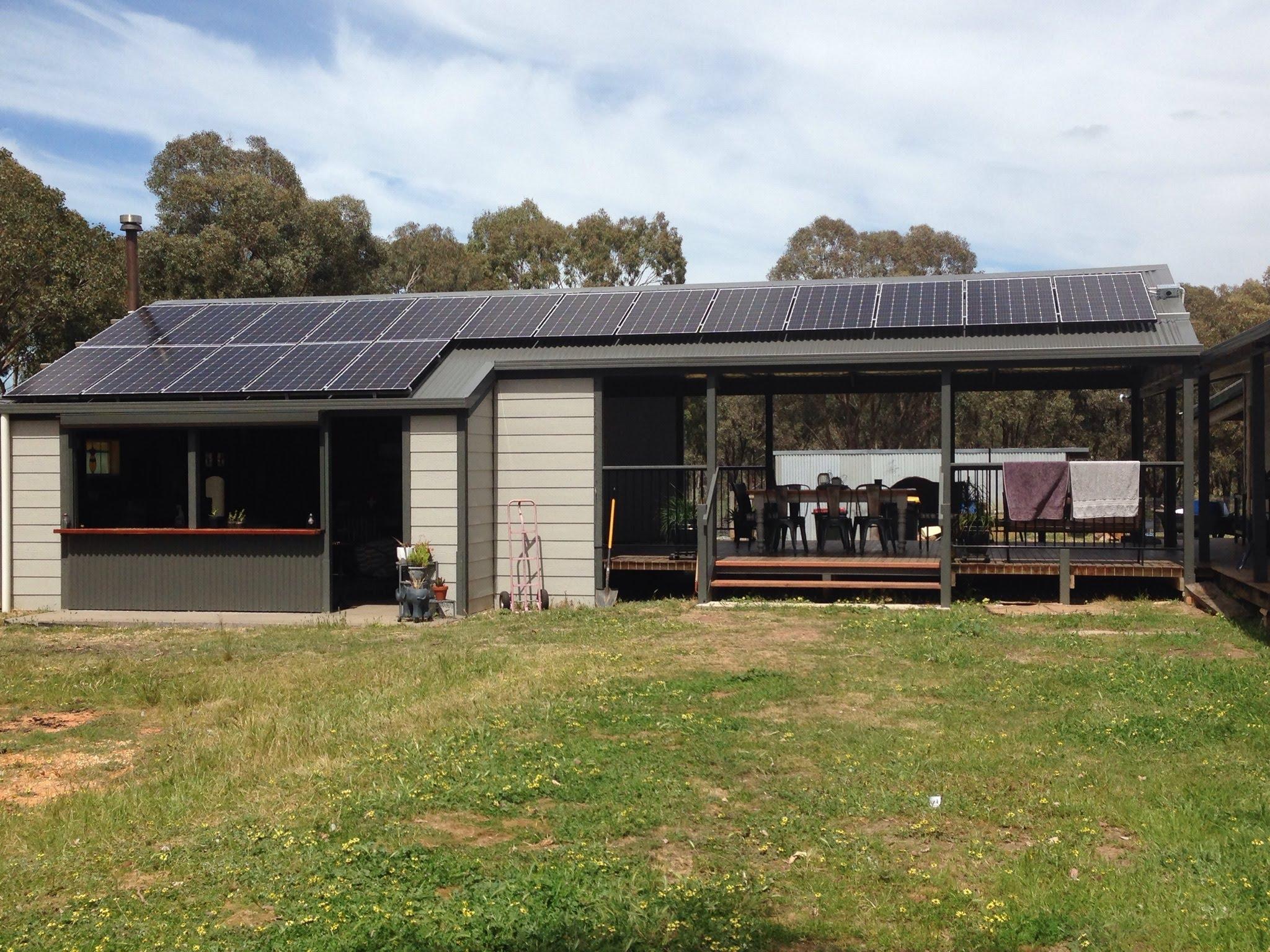 Castlemaine solar install 2019