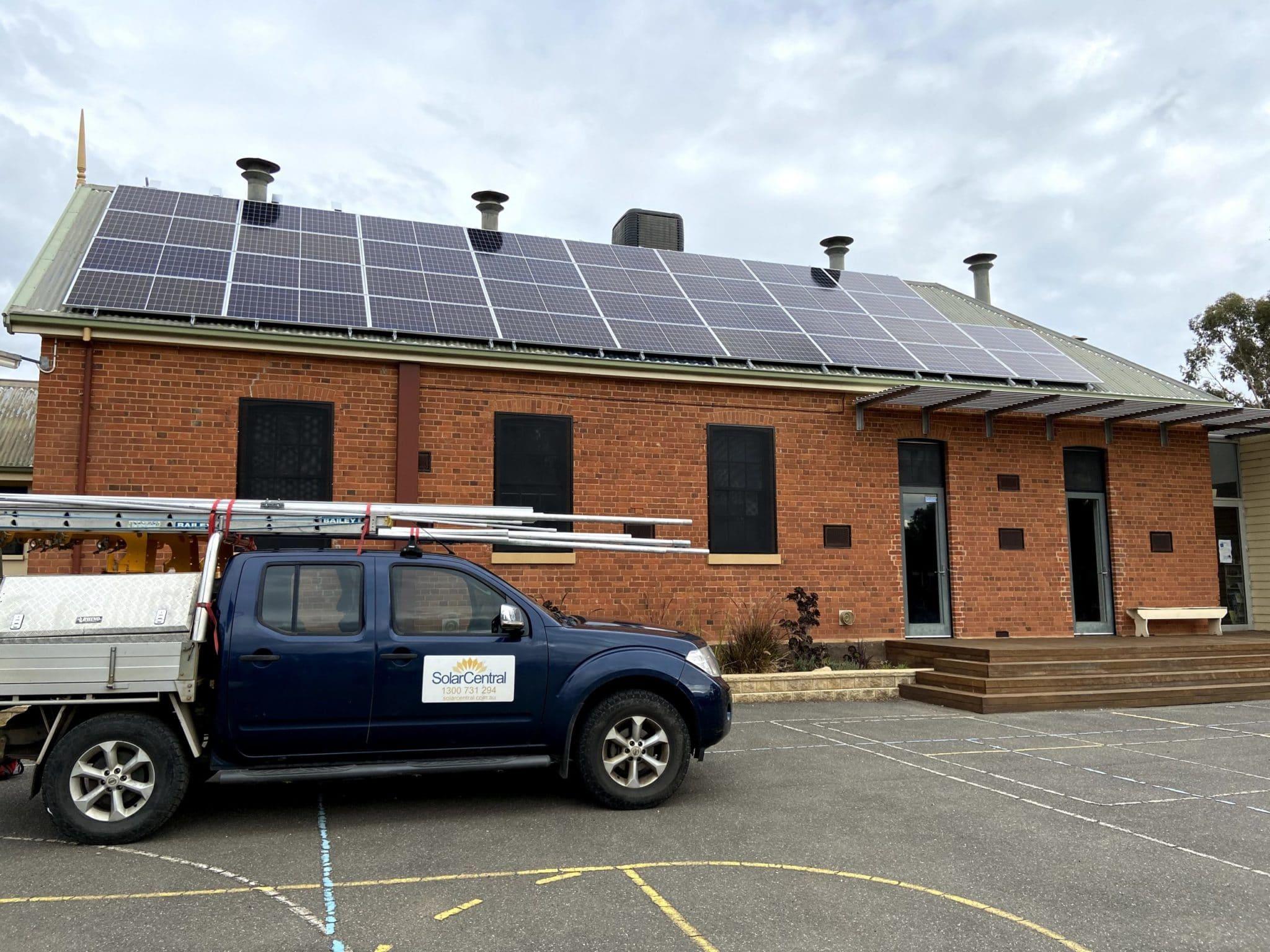 Tarnagulla school Commercial solar 2017